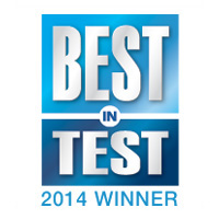 Best in Test Award 2014