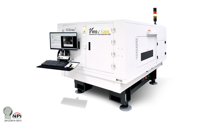 advanced 3d x-ray inspection system (axi) v810i s2ex