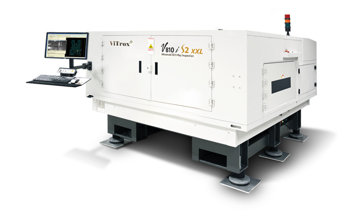 advanced 3d x-ray inspection system (axi) v810i s2 xxl
